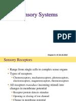 BIO3420.2010.6 Sensory Systems 15 and 18Oct10 2