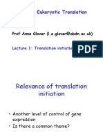 Eukaryotic Translation