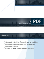 Risk based internal audit