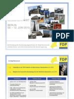 FDP Neckar Odenwald - Besucherfahrt Berlin 2010