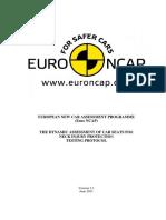 Euro Ncap Whiplash Test Protocol v3 1