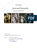 Study Guide Religion and Sexuality 2014-2015