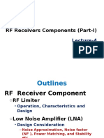 Lecture 4 Receiver Components 1
