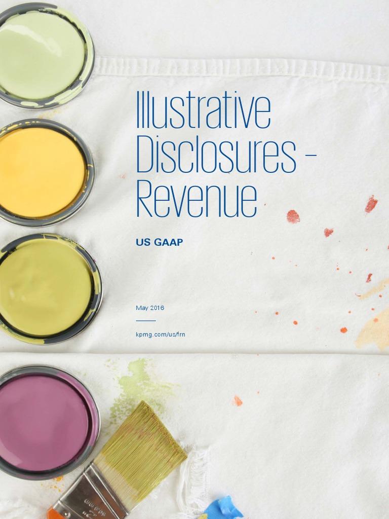 Revenue Illustrative Disclosures | Balance Sheet | Limited Liability