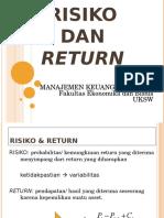Bab05 Risiko Dan Return