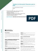 FINANZAS - Especialista en Análisis de Información Financiera para la toma de Decisiones