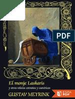 El Monje Laskaris y Otros Relat - Gustav Meyrink