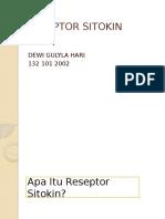 RESEPTOR SITOKIN
