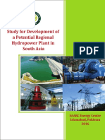 Study for Development of  a Potential Regional  Hydropower Plant in South Asia