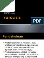 Fotolisis