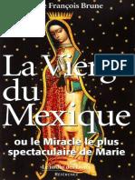 La Vierge Du Mexique - François Brune