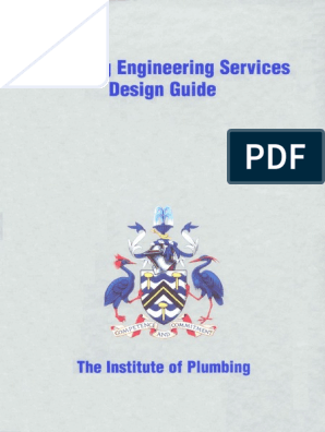 Plumbing Engineering Services Design Guide Engineering Science