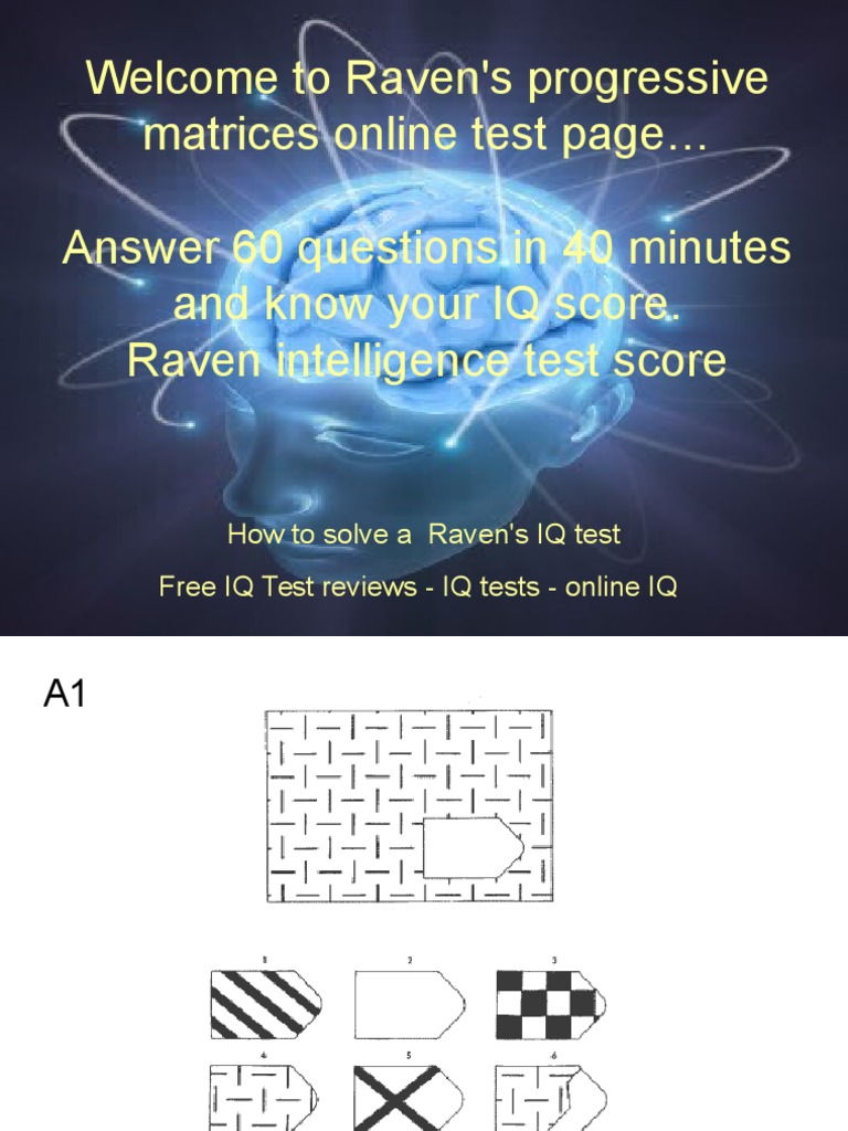 It is a photo of Printable Iq Test With Answers Pdf within grade 7
