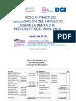 Ejercicio Practico IR Anual 2009-2010