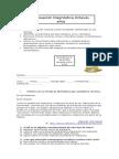 8 Evaluación Diagnóstica