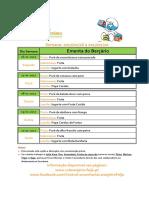 Ementa Bercario 16 a 20-01-2017