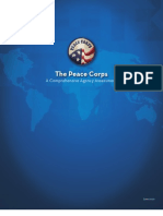 Peace Corps Comprehensive Agency Assessment  |  June 2010
