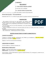 Administrativo - 1 - Noções introdutórias do Direito Administrativo.doc