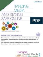 Understanding Social Media Staying Safe Online Presentation
