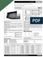 2VV - Filtru Sac Tub.rectang MKF-A