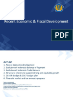 Recent Economic & Fiscal Development