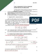 L2 1 Criterii Experimentale de Acordare