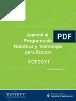 ANEXOS v01 Agosto 2016 Programa de Robótica y Tecnología Para Educar