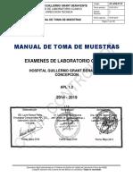 Manual Toma de Muestras Laboratorio Clinico Hggb