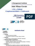ITIL x PMBOK - Complementaridades de Colaboração