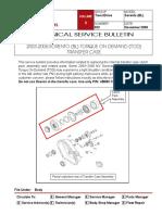 Ps 11442003 2006 Sorento BL Torque on DemanD ToD TranSfer CaSe