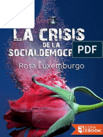 La Crisis de La Socialdemocraci - Rosa Luxemburgo