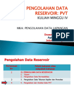 4-Pengolahan Data PVT