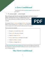 The Zero Conditional