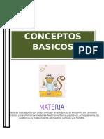 Tema Conceptos Basicos de La Quimica Inorganica