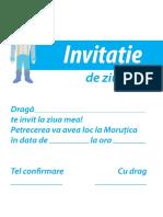 Invitatie Morutica