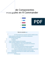 Análisis de Componentes Principales en R Commander