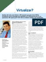 Por Qué Virtualizar