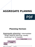 Aggregate Planing