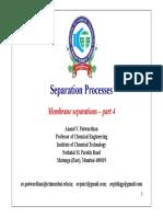 AVP - Membrane Separations - Part 4