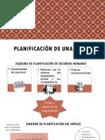 Planificacion de Una Seleccion