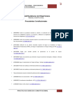 JURISPRUDENCIA SISTEMATIZADA