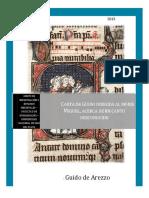 Guido de Arezzo Carta Al Monje Miguel Acerca de Un Canto Desconocido