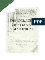 Genta, Jordán Bruno - Democracia cristiana o masónica.pdf
