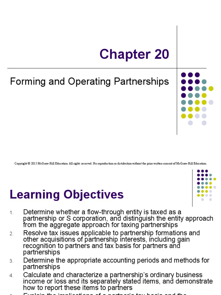 Nonservice partnerships liquidating distribution