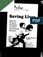 Saving Lives Cover