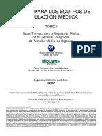 Manual de Regulacion SAMU 2007