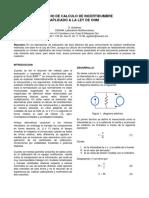 CALCULO DE INCERTIDUMBRE aplicando la ley de ohm CENAM.pdf