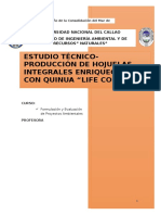 Proyecto Privado Hojuelas de Maiz Integral