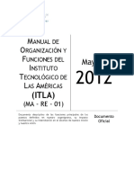 Manual de Organización y Funciones ITLAV