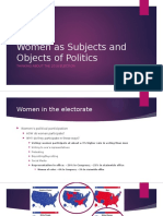 Women as Objects and Subjects of Politics